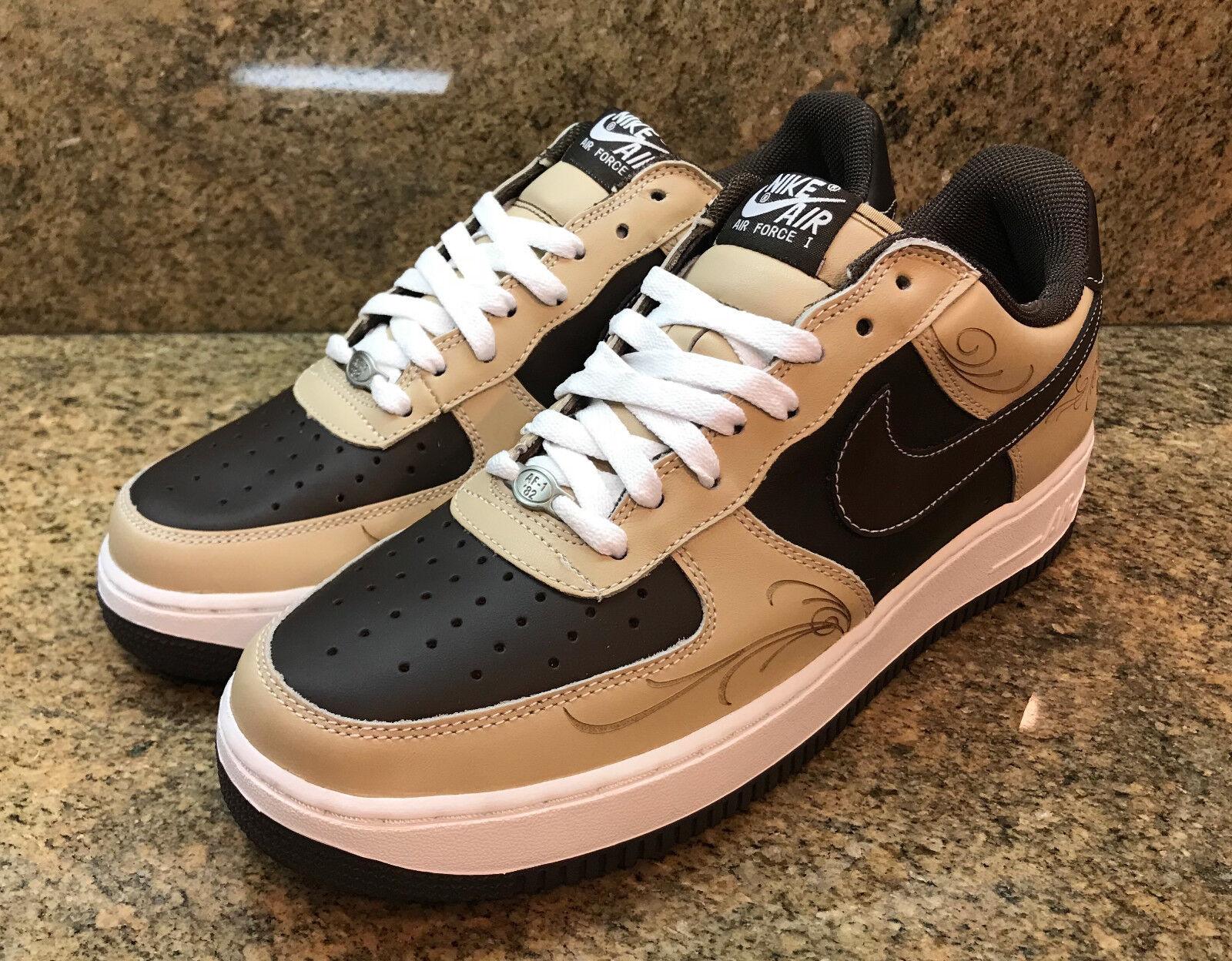 Nike Air Force 1 la 03 Mr Cartoon Brown Pride 307334 221 Men