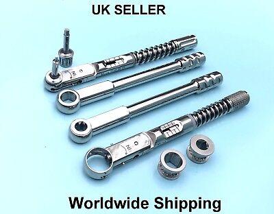 Dental Implant Torque Wrench Ratchet Adapter Drivers Screws Dental Tools