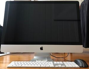 iMac 27inch Mid 2011 with 8-core i7-2600 CPU