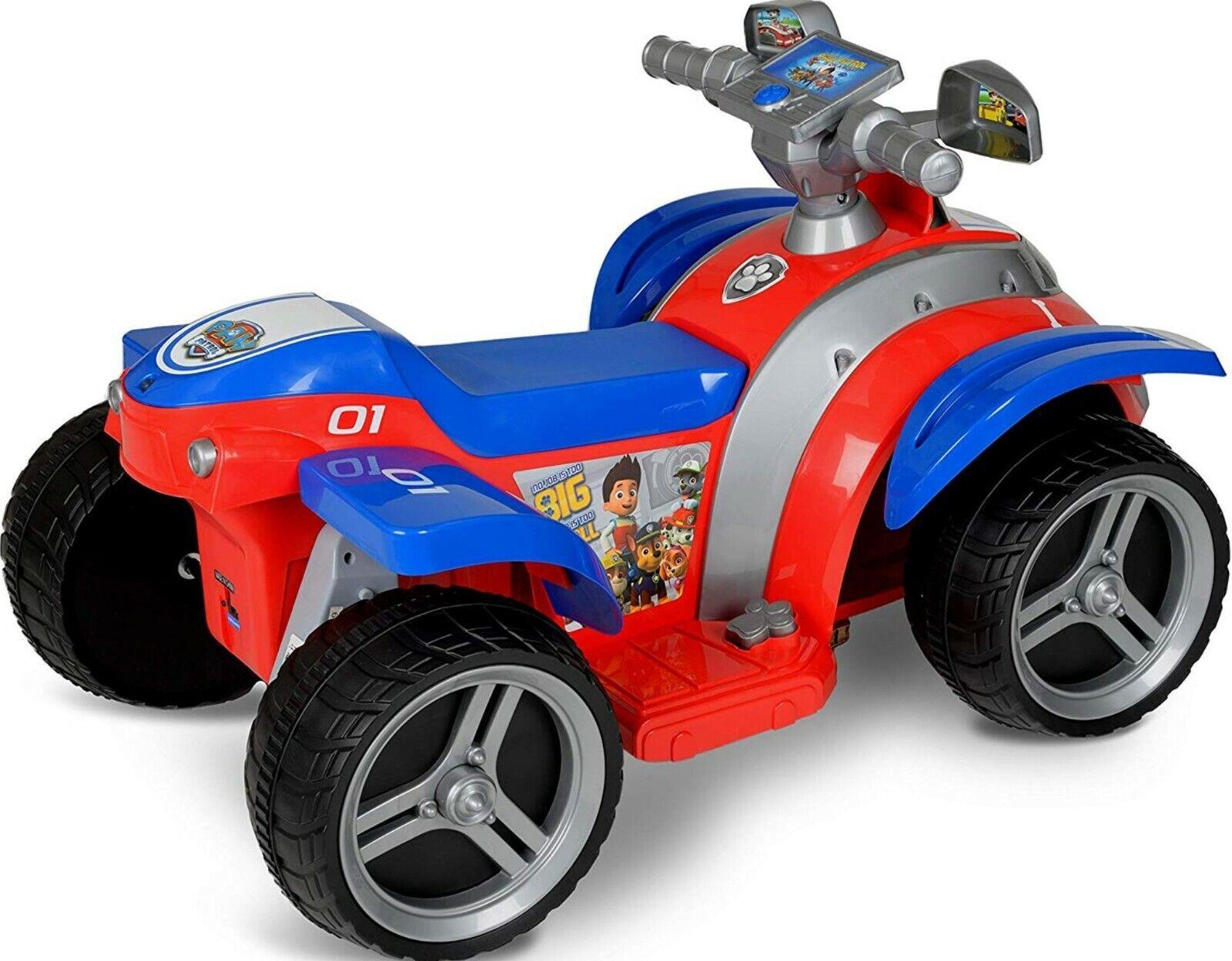 Ride On Hyper 6V Paw Patrol Children Play Outdoor Riding Gif