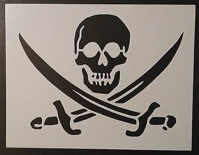 Pirate Skull Crossed Swords Flag 11