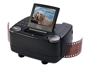 DB-Tech 35mm Film Slide and Negative Scanner - Film to Digital Image Converter