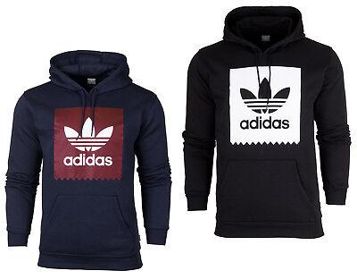 Adidas Originals Trefoil Herren Kapuzenpullover Fleece Sweatjacke Sweatshirt  Adidas Fleece Pullover Sweatshirt