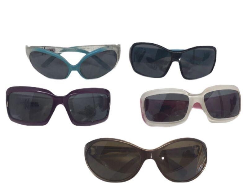 Disney Girls Sunglasses Hannah Montana  Pink Sparkle  Children's Lot of 5