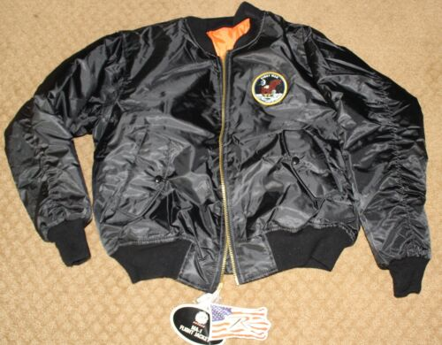 FIRST MAN MOVIE OFFICIAL PROMO ROTHCO MA-1 FLIGHT BOMBER JACKET S RYAN GOSLING