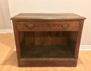 Meuble antique en bois