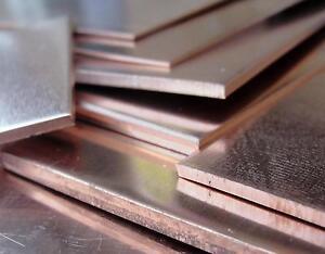 Copper Sheets Metalworking Milling Welding Ebay