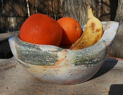 AAA GRADE SWEET OCEAN JASPER CARVEED POLISHED BOWL