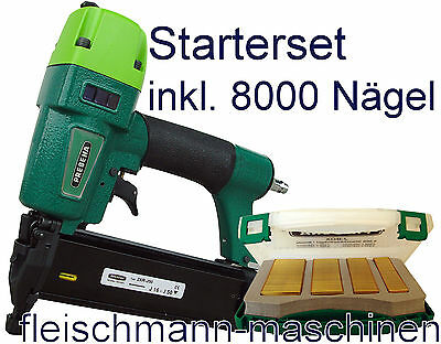 Prebena Stauchkopfnagler Druckluftnagler 2XR J 50 Tacker + J BOX