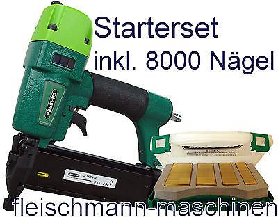 Prebena Stauchkopfnagler Nagler Druckluftnagler 2XR J50 Tacker + J BOX Nägel NEU