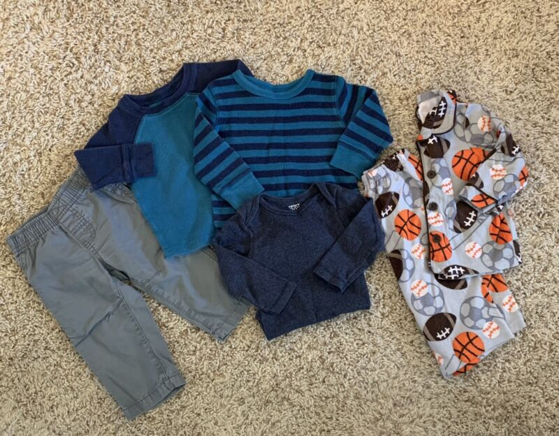 Carters, Jumping Bean Baby Boy Clothes 12 Months Lot Fall/winter