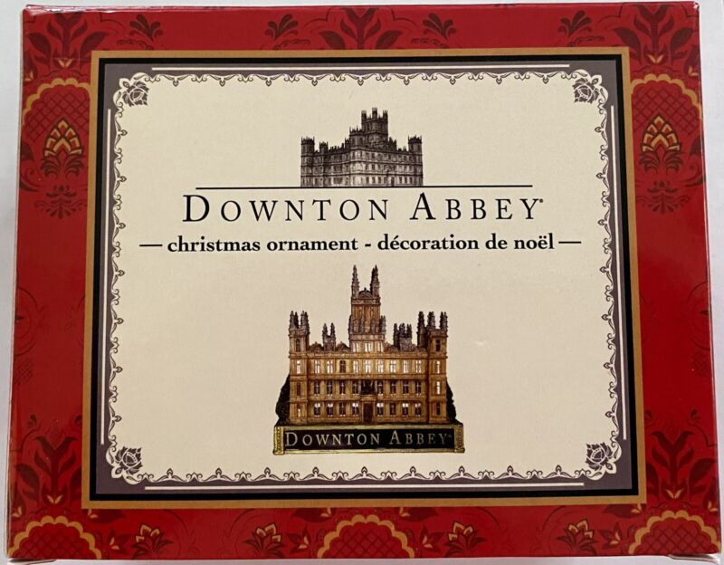 Downton Abbey Castle Christmas Ornament Kurt S. Adler Inc 3.5 Inches