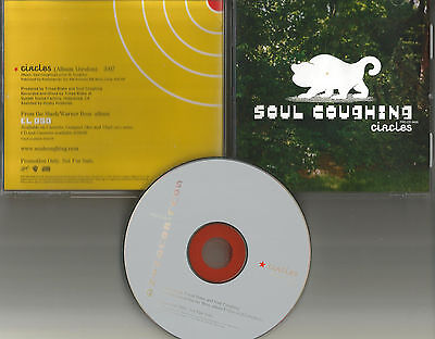 Mike Doughty Soul Coughing Circle Rare 1998 Usa Promo Dj Radio Cd Single Mint