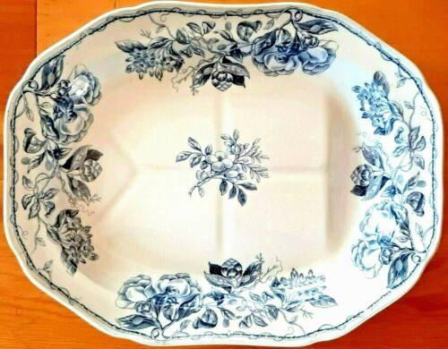 Platter BLUE & WHITE Porcelain 1800