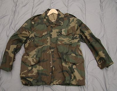 NEW (unissued) Croat Army Woodland M65 Combat Field Jacket in Size Large