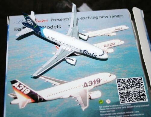 ALASKA AIRLINES AIRBUS A-319 AEROCLASSICS 1:400
