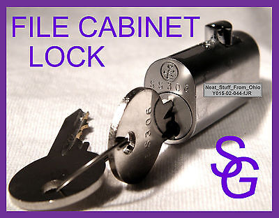 File Cabinet Lock - Sargent Greenleaf - Factory New - With Two Keys