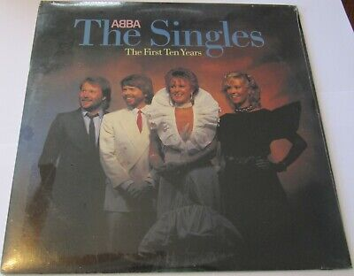 SEALED - ABBA - THE SINGLES THE FIRST 10 YEARS 1982 ATLANTIC DOUBLE VINYL LP