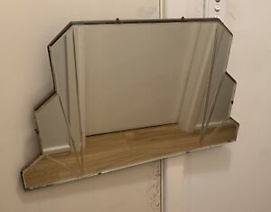 Vintage Art Deco Design Mirror #1