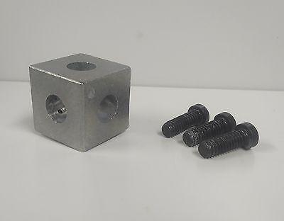 8020 Inc Equivalent Zinc Die-cast - Square Tri Corner Connector 10 Series 4042
