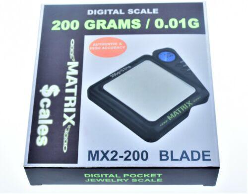 Digital MATRIX MX2-200 Blade Scale 200 GRAMS / 0.01G