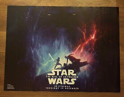 """Star Wars The Rise of Skywalker (2019), Original UK Cinema Quad Poster 30""""x40"""""""