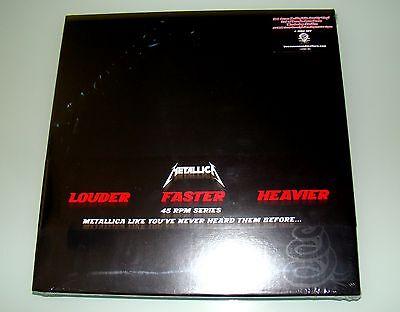 Metallica (Black Album) 4x180g 45rpm audiophile Quality Vinyl LP Box-Set US-Vers