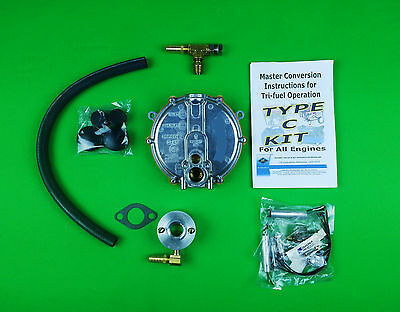 Tecumseh Propane Natural Gas Triple Fuel Conversion Kit