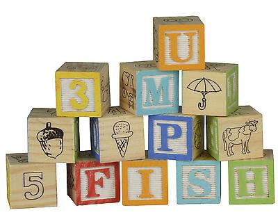 Holzwürfel Holz Würfel Bauklötze Buchstaben Zahlen Alphabet Lernspielzeug Spiel