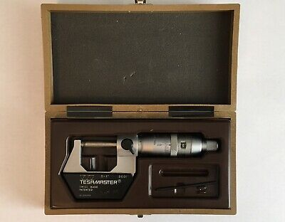 Tesamaster Swiss Made 0-1 Micrometer Brown And Sharpe