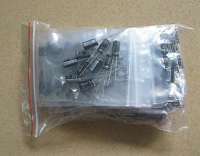 1uf2200uf 25 Value 125pcs Electrolytic Capacitors Assortment Kit Assorted Set