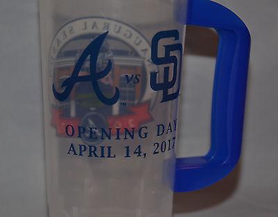 Atlanta Braves Suntrust Park Openday Day Plastic Mug  Cup  Inaugural Season 2017