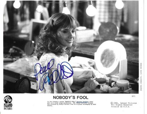 "Rosanna Arquette ""Nobody`s Fool"" Autogramm signed 20x25 cm Bild s/w"