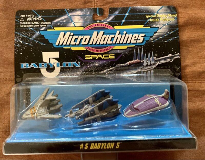 Micro Machines Space Babylon 5 Collection # 5 Galoob 1995 NIB