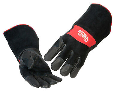 Lincoln K2980 Premium Leather Mig Stick Welding Gloves Size Large