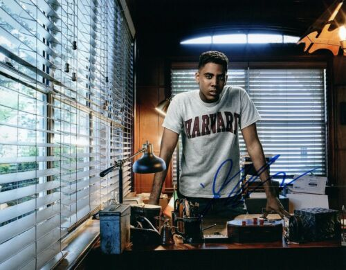 Jharrel Jerome Signed Autographed 8x10 Photo MOONLIGHT MR MERCEDES Actor COA
