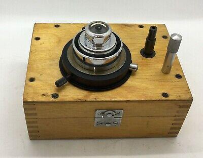 Lomo Condenser Dark Field Oi-2 A-115 With Adapter To Microscope Oi-13
