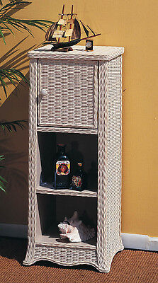 Brand New Rattan & Wicker Country Living Room Display Cabinet