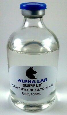 Polyethylene Glycol 400 Usp Grade 100ml - Free Shipping