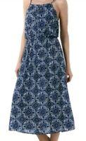 Maxikleid Sommerkleid Trägerkleid Strandkleid blau bunt Gr. S neu Berlin - Steglitz Vorschau