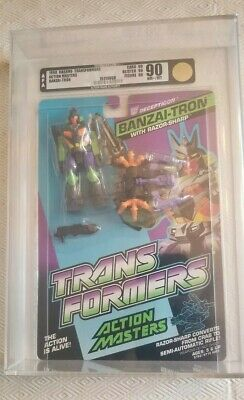 Transformers Action Masters Banzai-Tron (Hasbro 1990) AFA 90 90/90/90