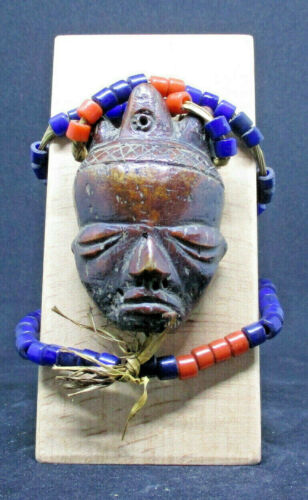 Old Huge PENDE Ikhoko Pendant (D)  - CONGO - late 1800 or early 1900