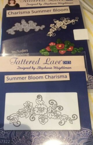 CD ROM/'  D1394 FREE UK P/&P Tattered Lace /'CHARISMA CUTE CRITTERS BUTTERFLY Die