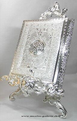 Edle Koran Quran Truhe Metal Silber  *Allah Islam Muslim Hijab Abaya Takschita*