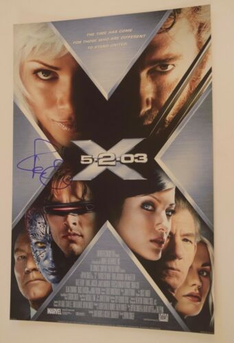 Famke Janssen Signed Autographed 12x18 Photo Poster X-MEN COA VD