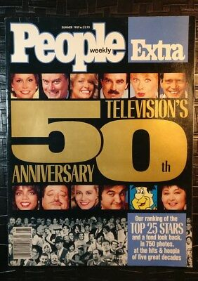 People Magazine Summer 1989   Televisions 5Oth Anniversary