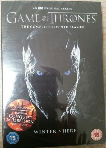 Game of Thrones Staffel 7 mit deutschem Ton 4 DVD+1DISC BONUS