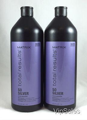 Matrix Total Results ColorCare So Silver Shampoo 33.8oz/each (SET OF