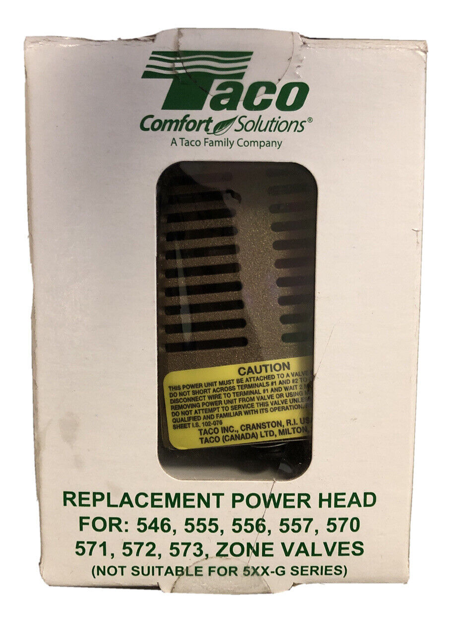 Taco 555050RP Replacement Power Head Zone Valve new