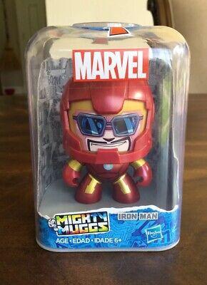 Marvel Mighty Muggs Iron Man Vinyl Figure New - Mighty Muggs Ironman